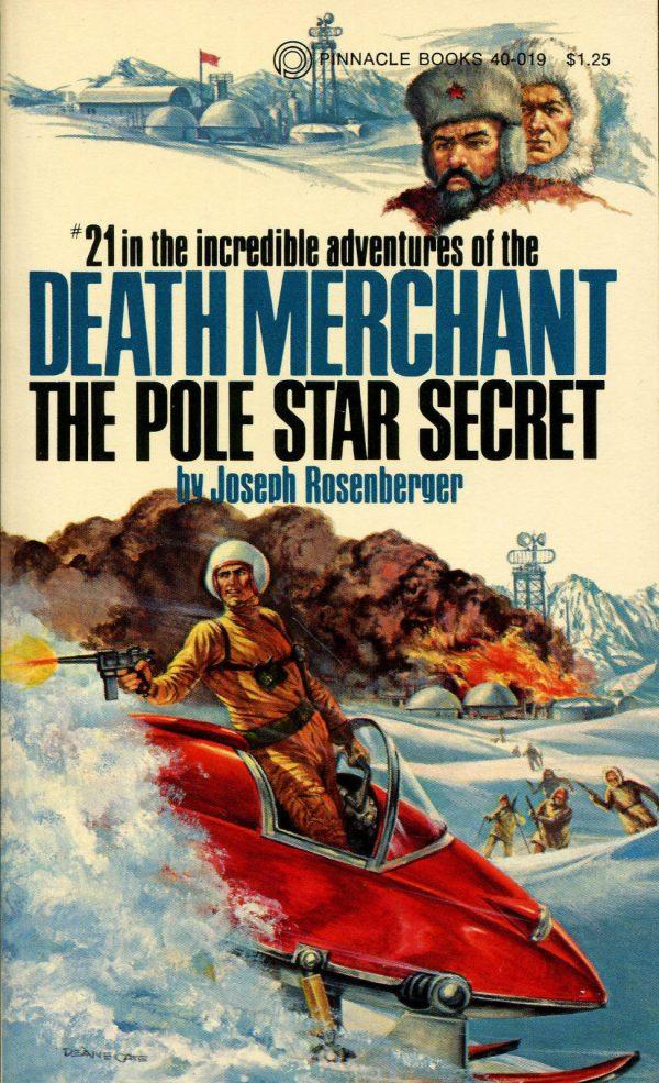 Death Merchant #21 Pole Star Secret