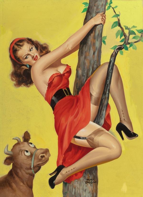 Eyeful magazine cover, June 1952