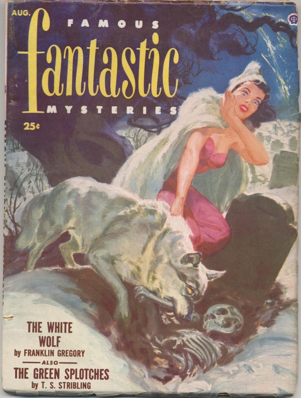 Famous Fantastic August 1952