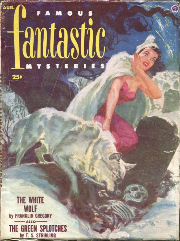 Famous Fantastic Mysteries - Aug 1952