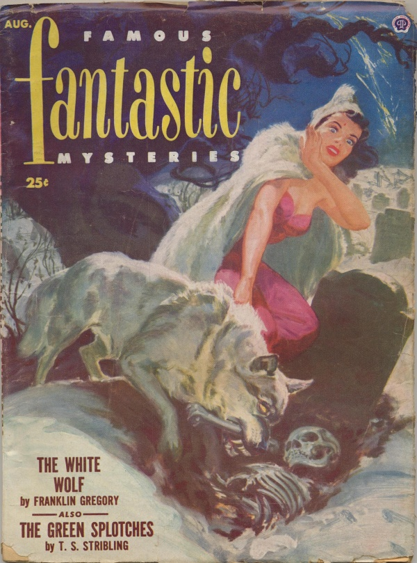 Famous Fantastic Mysteries, August 1952