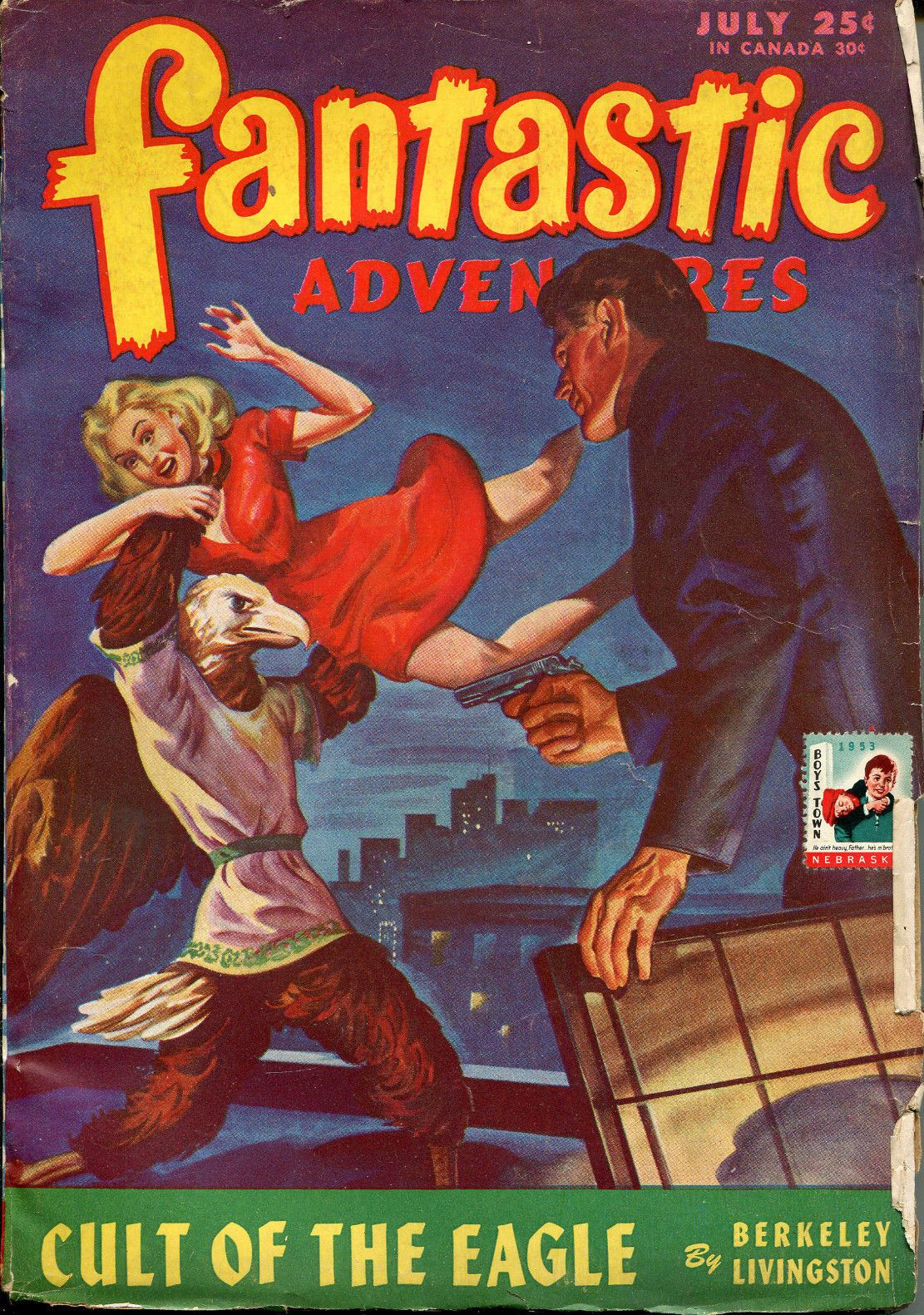 Fantastic Adventures, a pulp-fiction mag from the 50's