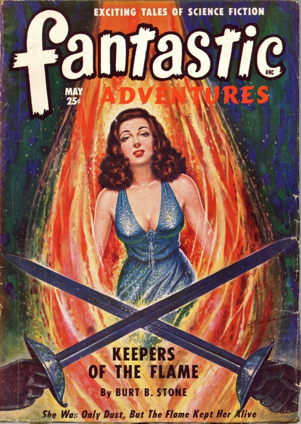 Fantastic Adventures, May 1949