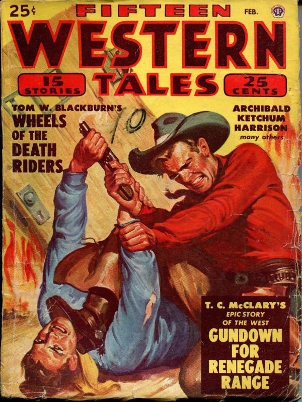 Fifteen Western Tales February 1949