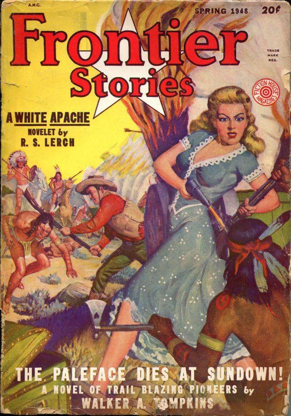 Frontier Stories Pulp-Spring, 1948