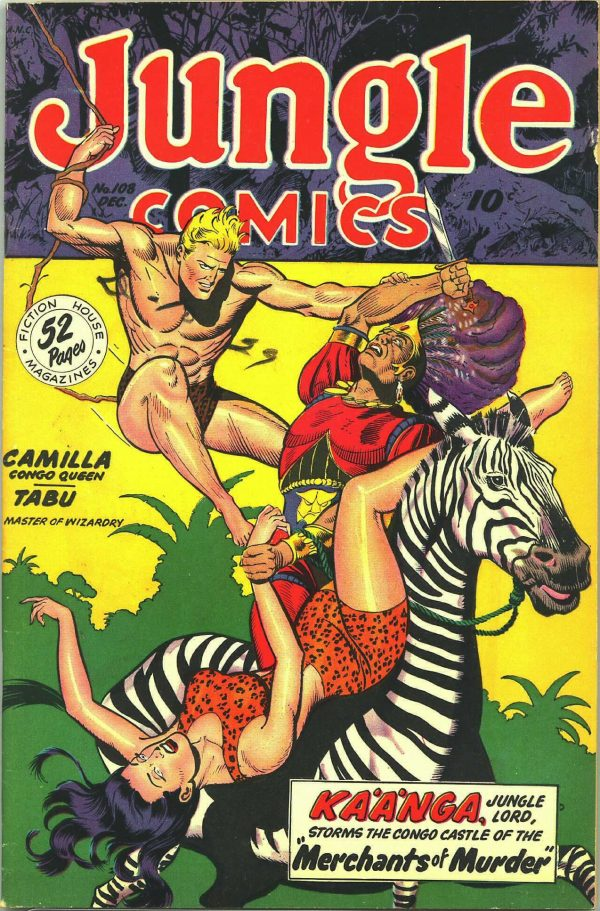 Jungle Comics #108