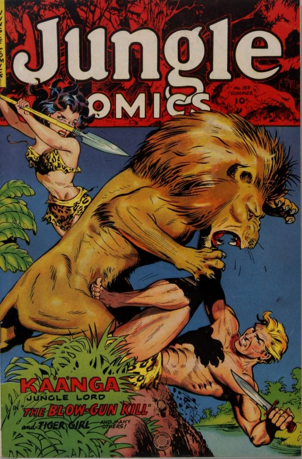 Jungle Comics #159