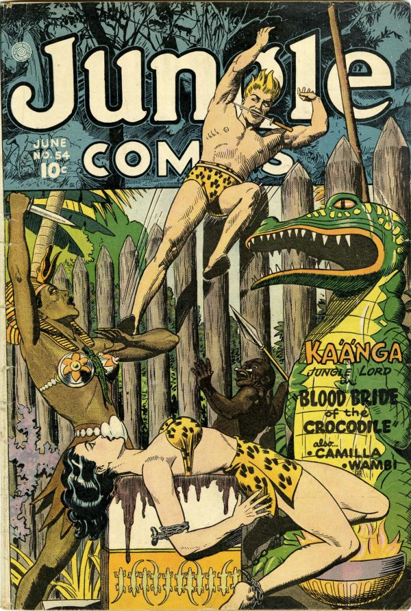 Jungle Comics #54