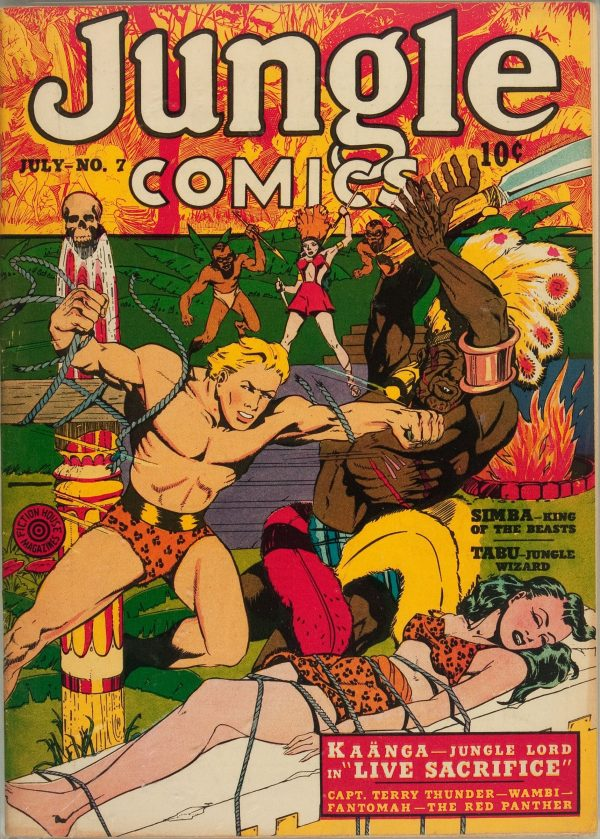 Jungle Comics #7