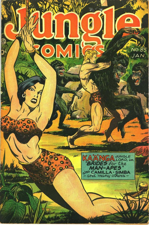 Jungle Comics #85