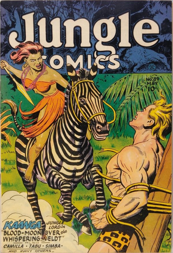 Jungle Comics #89