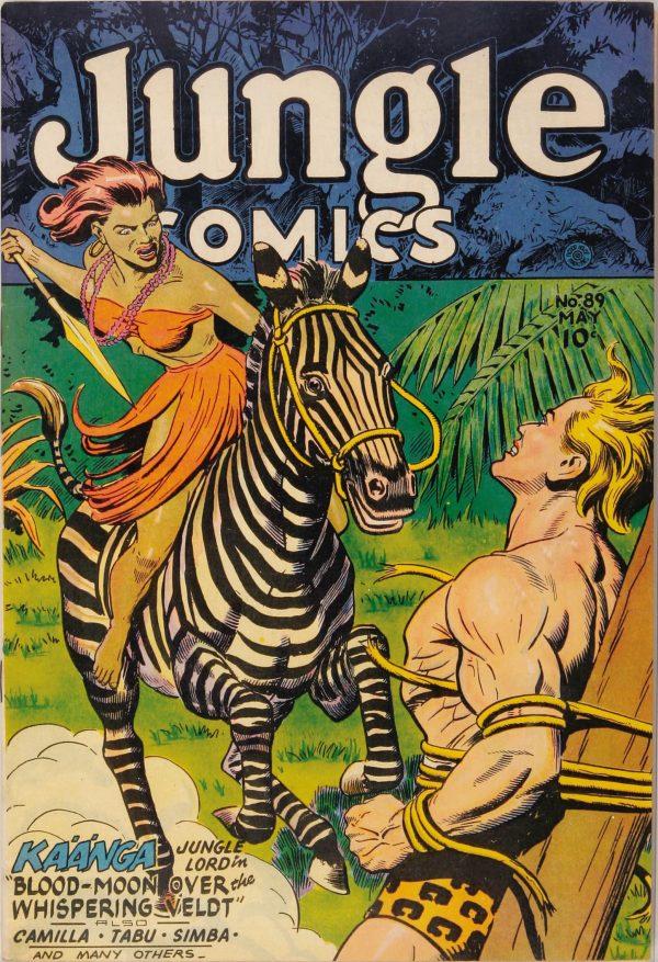 Jungle Comics #89