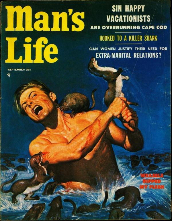 Man's Life September 1956