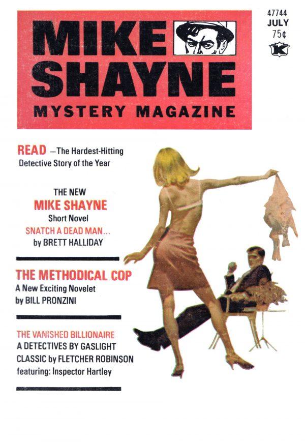 Mike Shayne Mystery Magazine July 1973