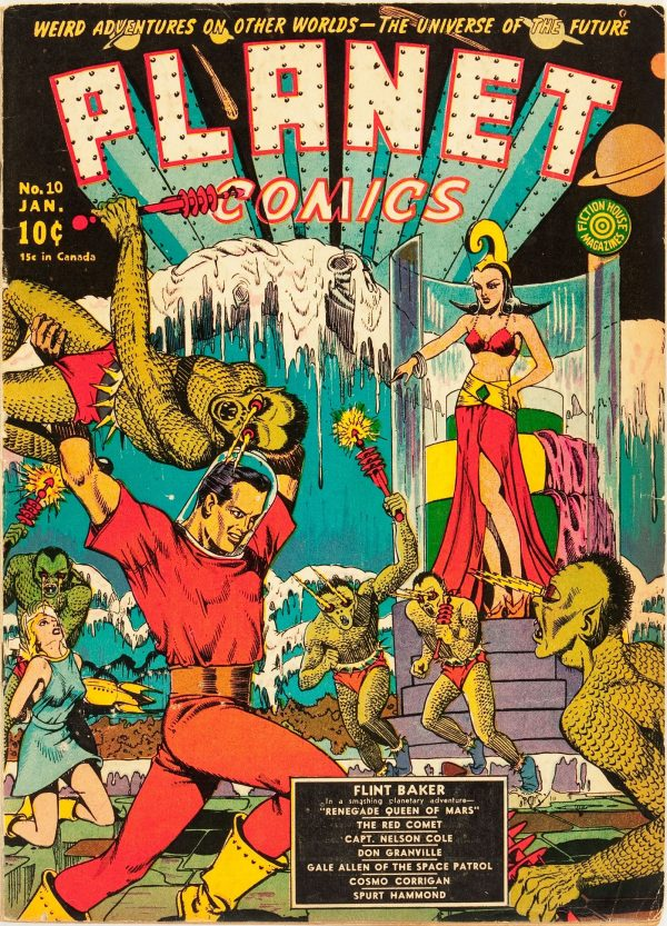 Planet Comics #10