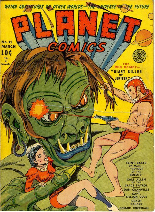 Planet Comics #11