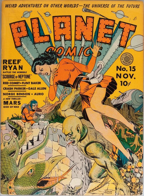 Planet Comics #15