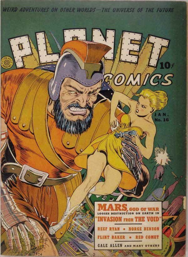 Planet Comics #16