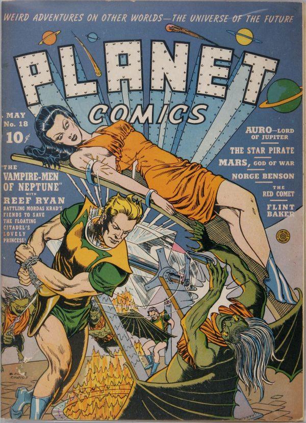Planet Comics #18