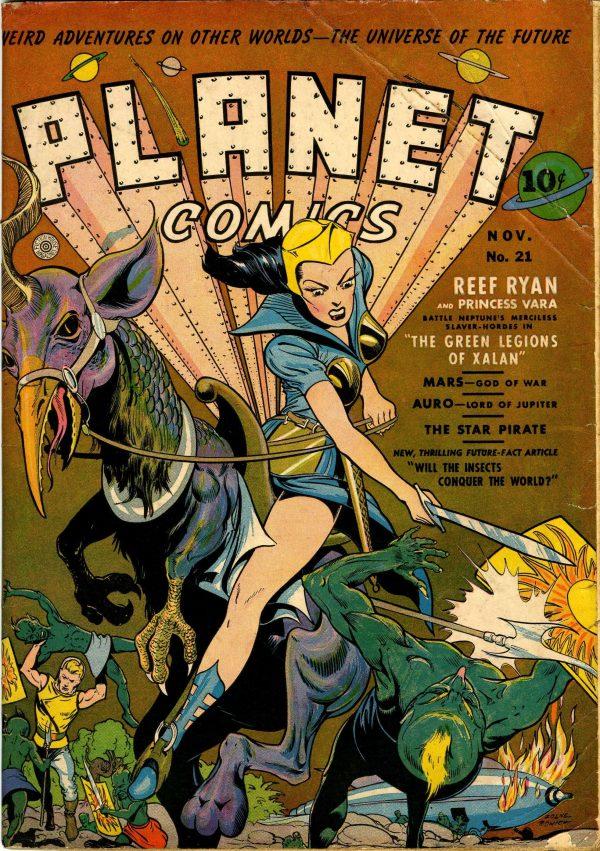 Planet Comics #21