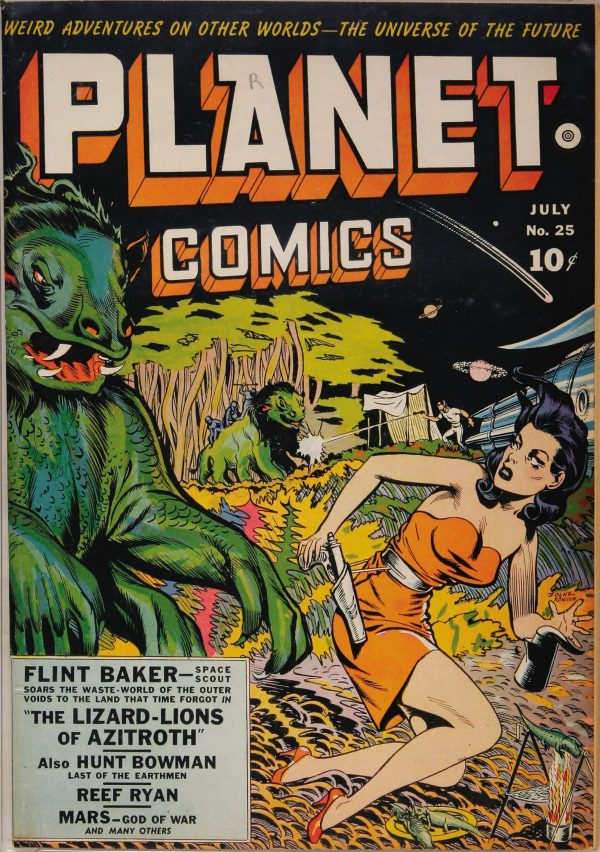 Planet Comics #25