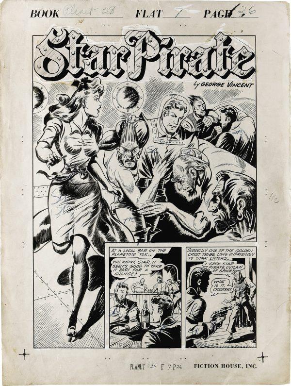Planet Comics #28 Page (1)
