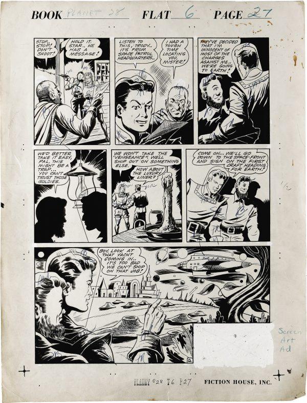 Planet Comics #28 Page (2)