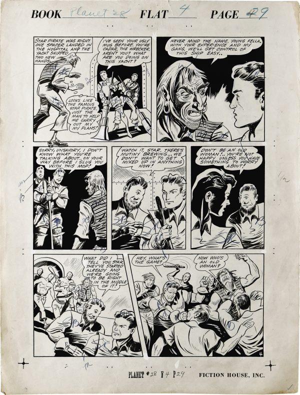 Planet Comics #28 Page (4)
