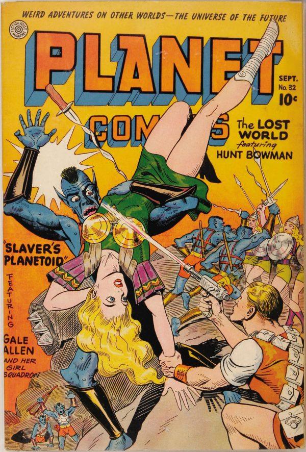 Planet Comics #32