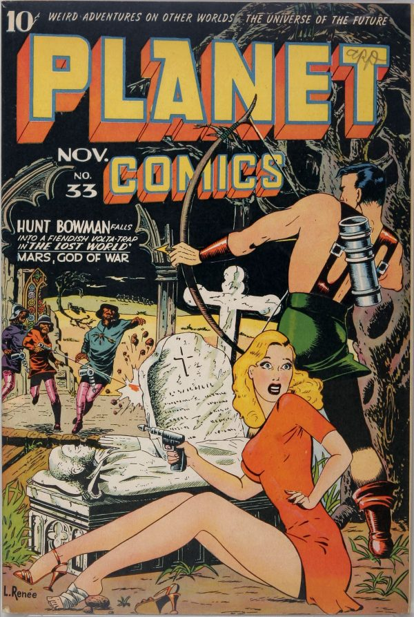 Planet Comics #33