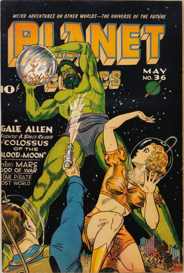 Planet Comics #36