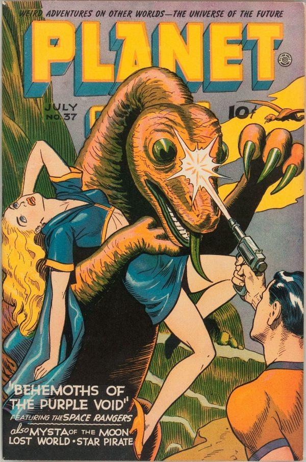 Planet Comics #37