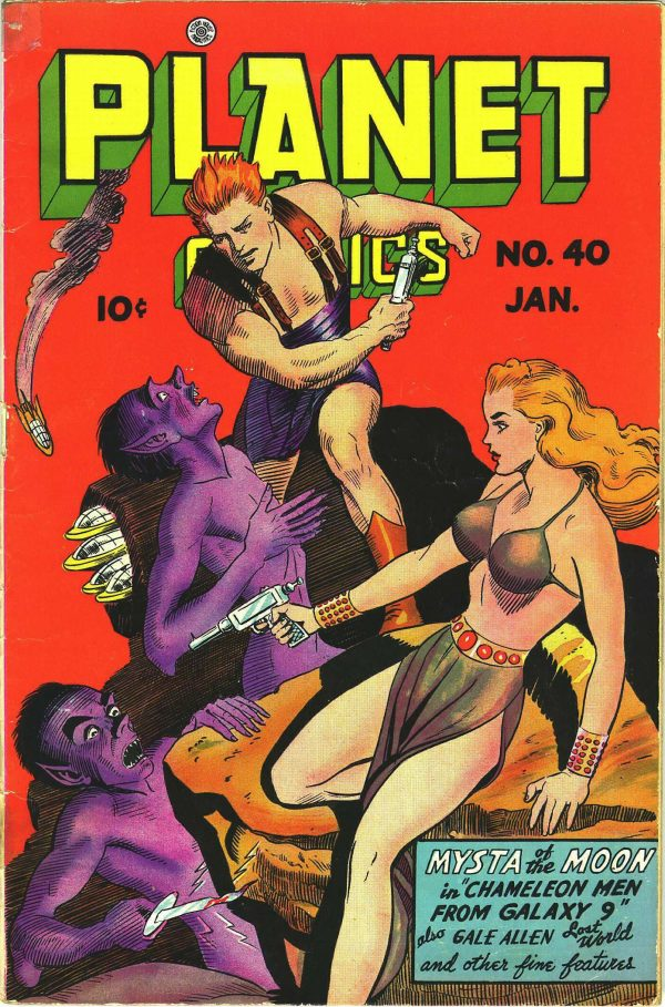 Planet Comics #40