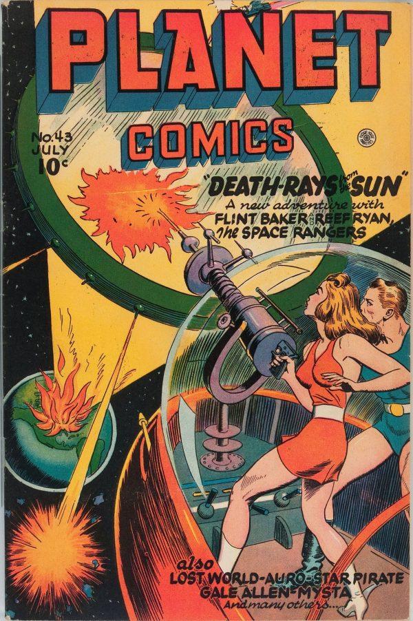Planet Comics #43