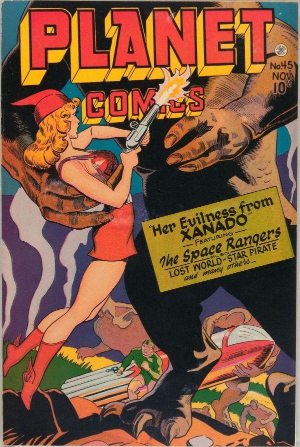 Planet Comics #45