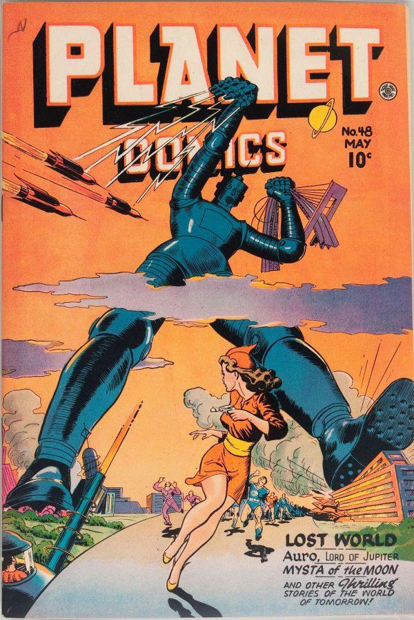 Planet Comics #48