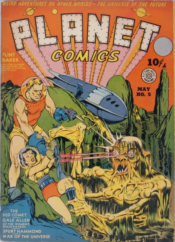 Planet Comics #5