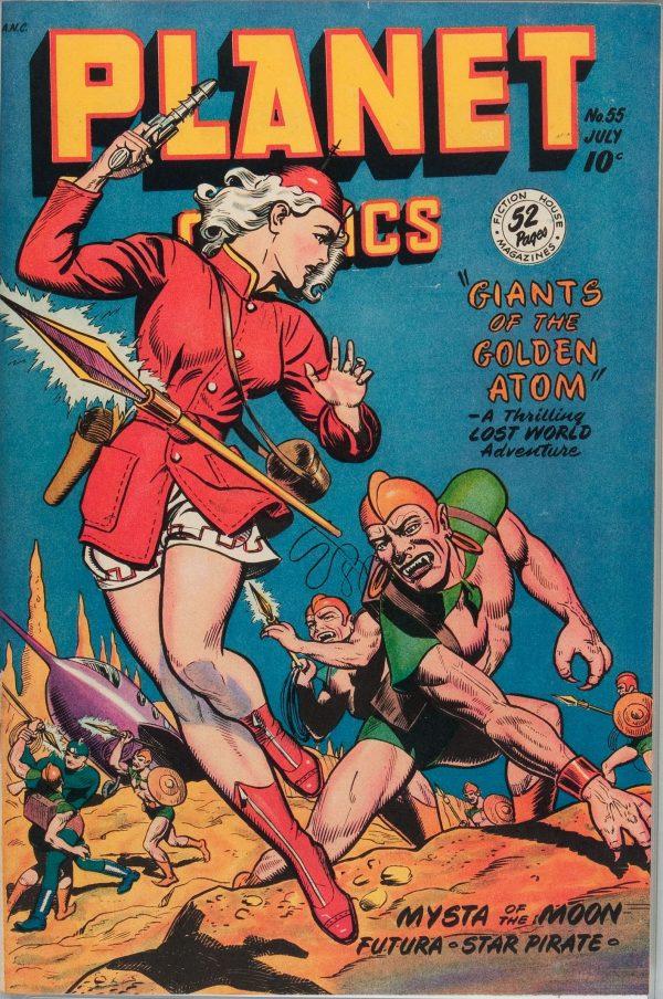 Planet Comics #55