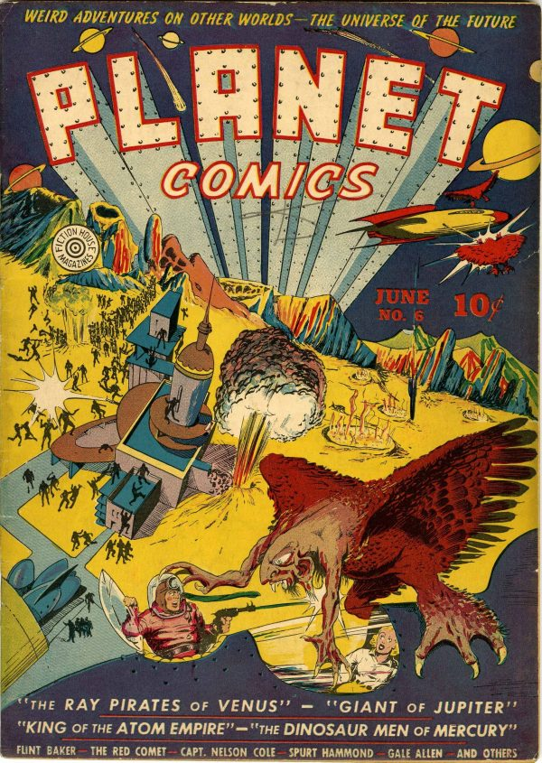 Planet Comics #6