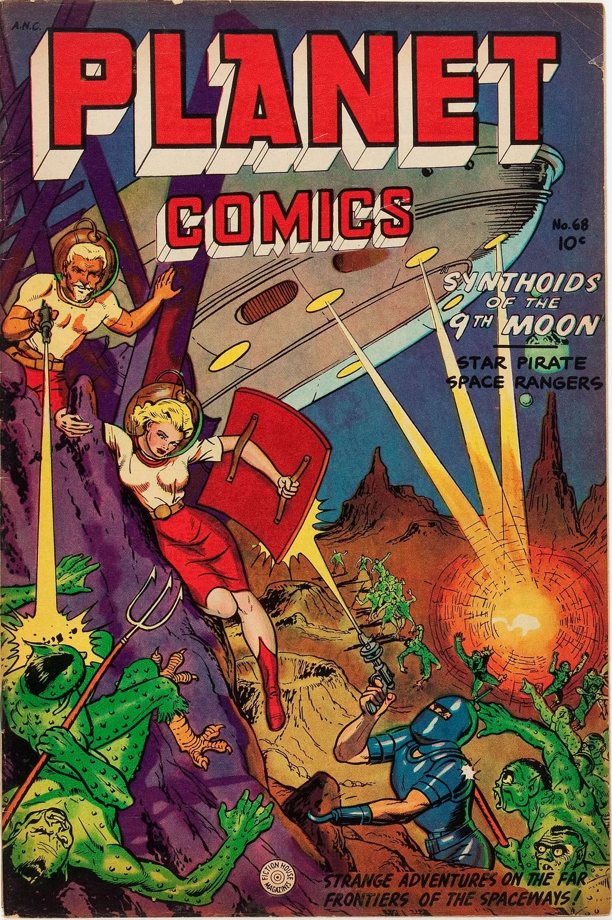 comic planet comics covers books pulp cowgirl space planets super via tag annie pulpcovers fiction