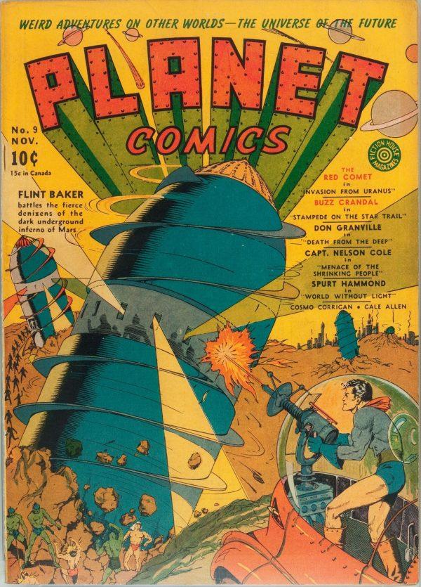 Planet Comics #9