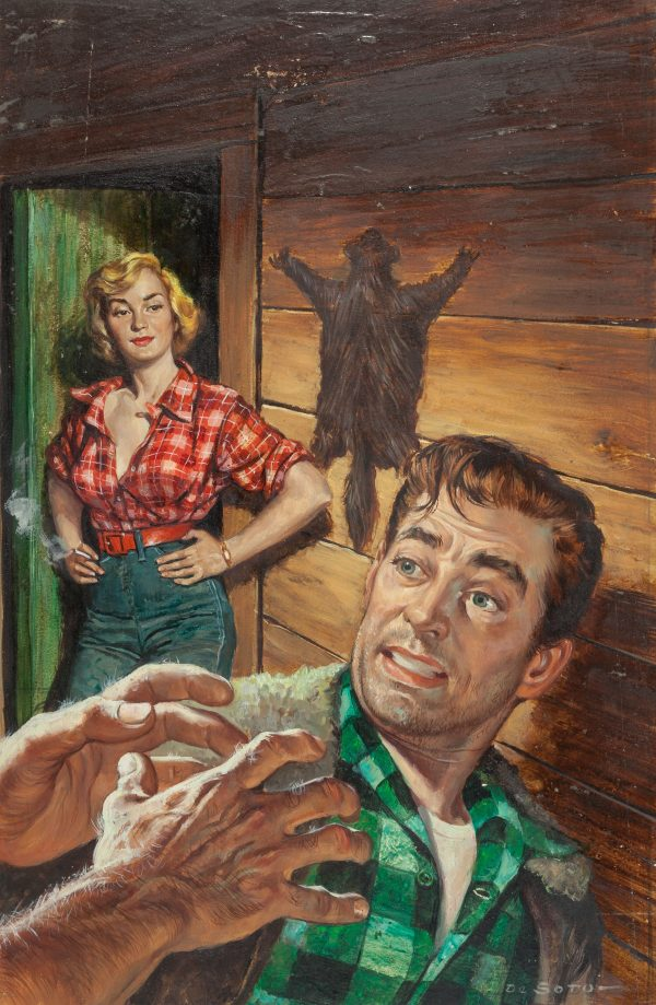 The Drowning Wire, paperback cover, 1953