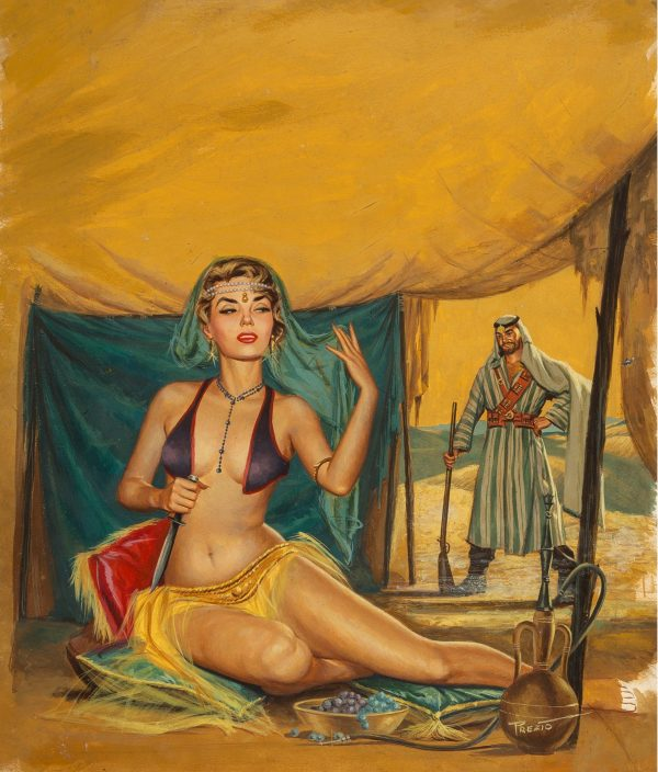 Well of Virgins, Battle Cry magazine cover, December 1959