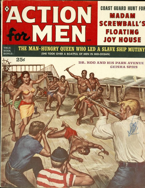 Action for Men, August 1959