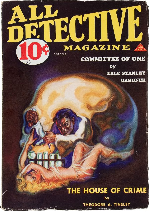 All Detective Magazine - October 1933
