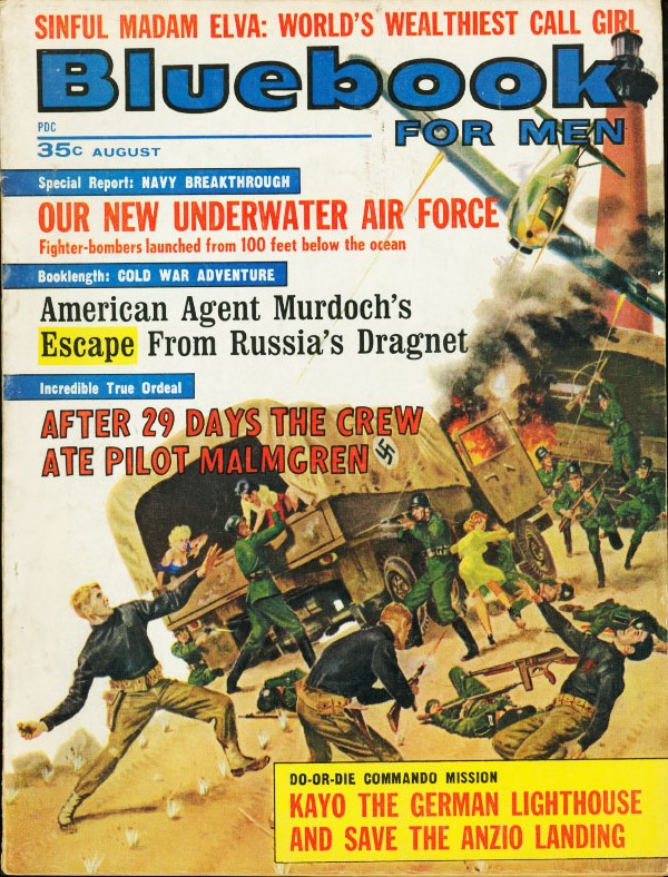Bluebook August 1963