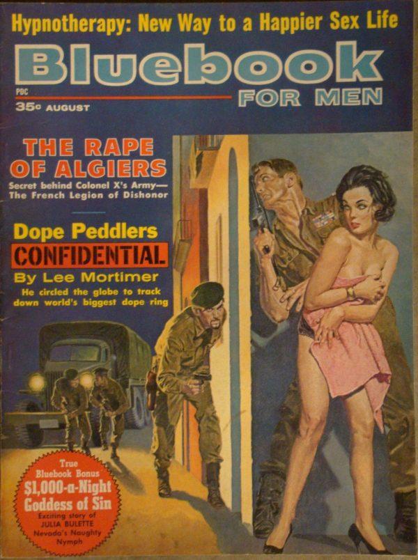 Bluebook for Men August 1962
