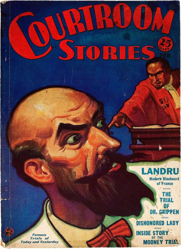 Courtroom Stories V1#4, 1932