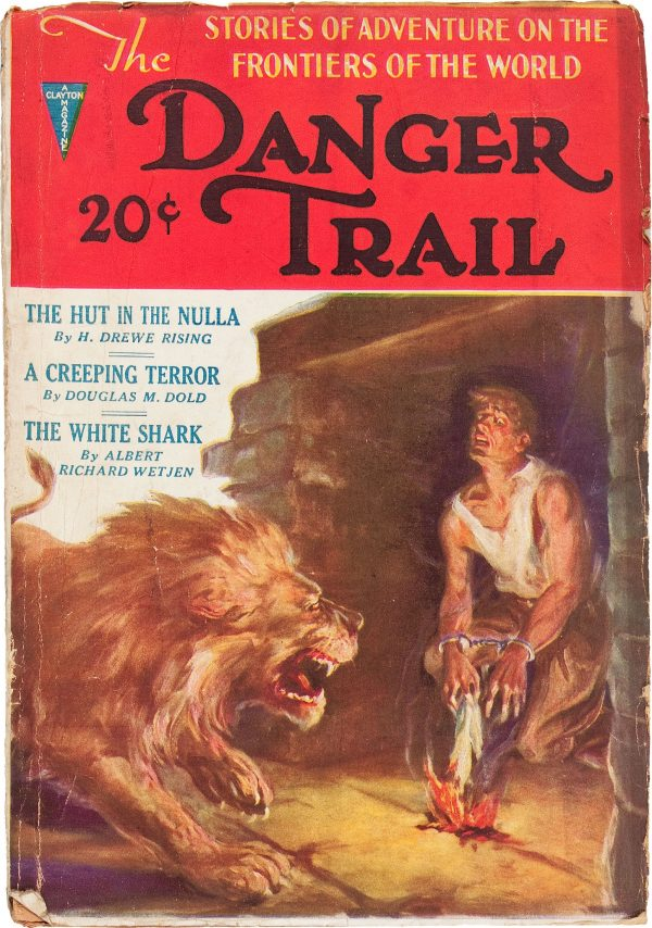 Danger Trail V1#1, 1933