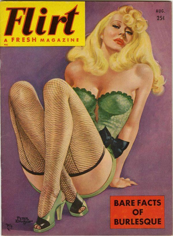 Flirt Magazine August 1951